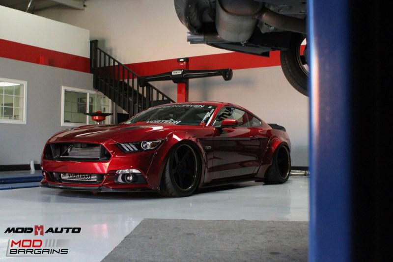 Ford Mustang GT S550 Vortech Airlift Bassani CF Robert Romo (45)