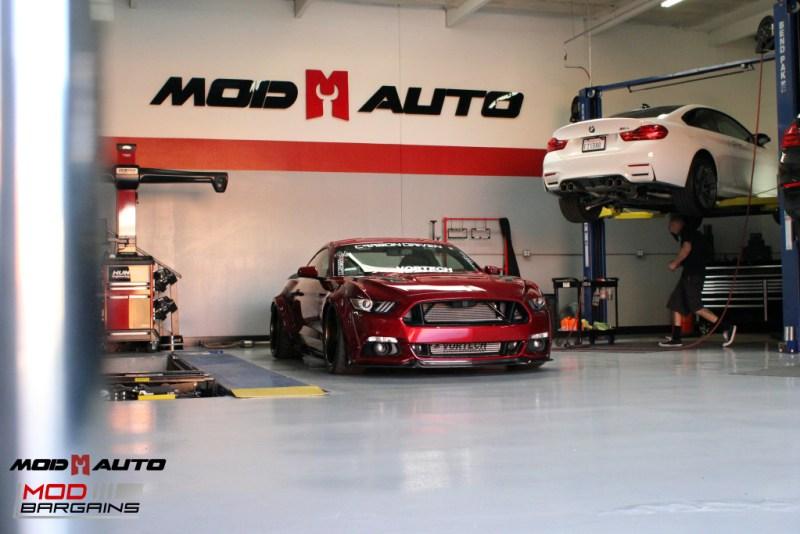 Ford Mustang GT S550 Vortech Airlift Bassani CF Robert Romo (46)