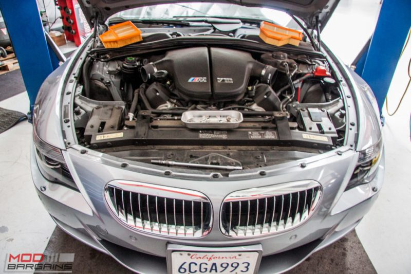 BMW E63 M6 K&N Intakes (1)