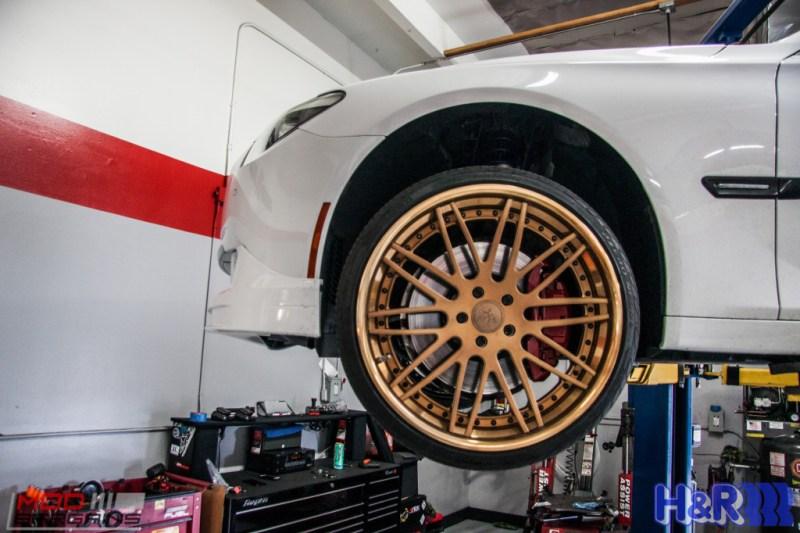 BMW F01 750li HR Springs Rennen Forged Sean Customer (6)