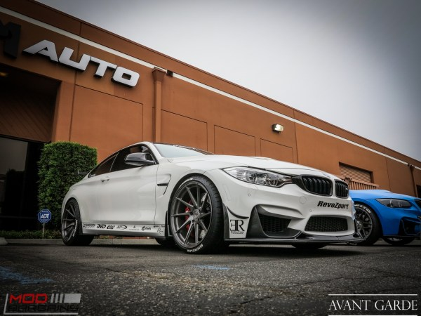Feature: @awm4's Beastly BMW M4 Rolling on Avant Garde M621s at ModAuto