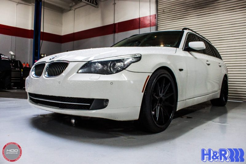 BMW_E60_535i_Rohana_RC10_MatteBlack_HR_Springs (21)