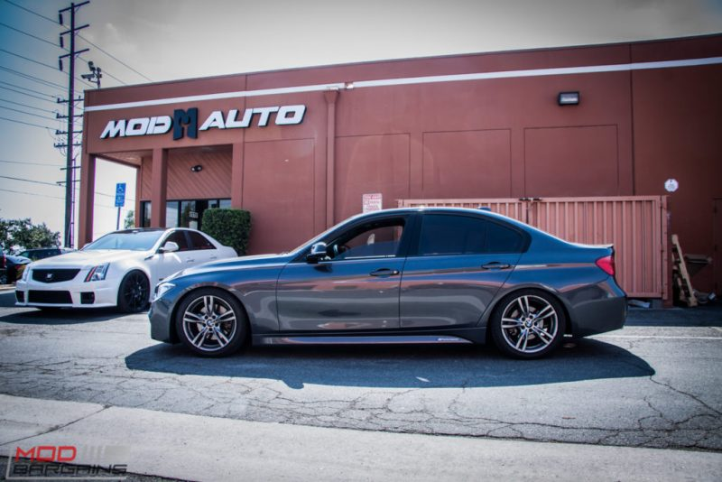 BMW_F30_328i_M4_Bumper_AWE_Quad_Exhuast_Msport_rear_Lowered (20)