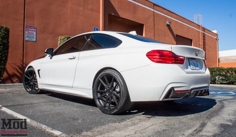 BMW_F32_428i_Rohana_RF2_MatteBlack_CFHood_Splitter_Skirts_Diff_9