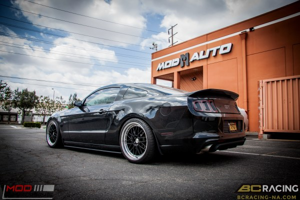 Quick Snap: S197 Ford Mustang GT Lowered on BC Coilovers + 20in Mesh Wheels