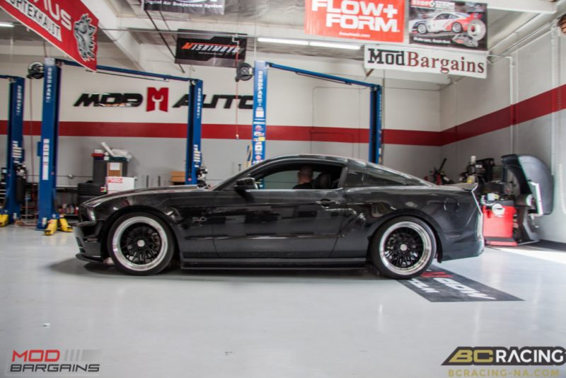 Ford Mustang GT S197 BC Coilovers Eurotek MM6 20in (9)