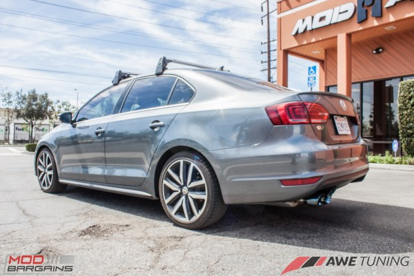 Quick Snap: AWE Tuning Exhaust for Jetta GLI Installed @ ModAuto