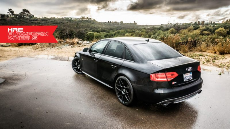 Stealthy, Sleek, all words we'd use to describe this B8 Audi S4 on HRE FF01's.