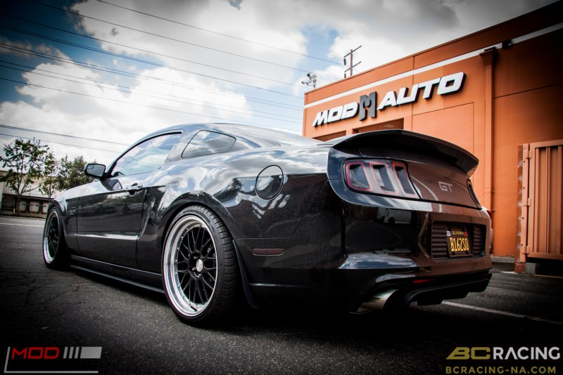 Ford Mustang GT S197 BC Coilovers Eurotek MM6 20in (14)