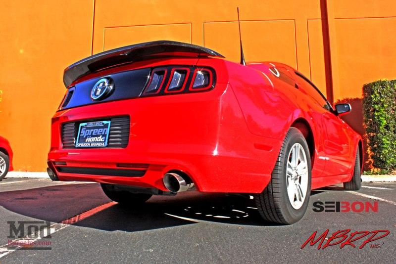 Ford Mustang S197 MBRP Exhaust MGP Calipers Seibon TS (7)