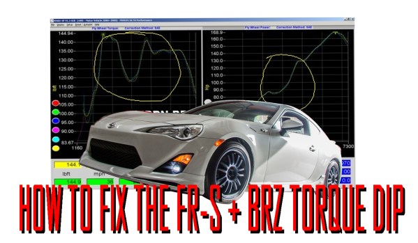 Fix The Torque Dip on FR-S, BRZ & Toyota 86 with E85, OpenFlash Tablet & Headers