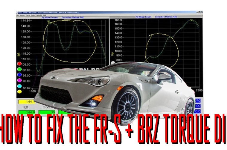 Fix The Torque Dip on Scion FR-S/Subaru BRZ/Toyota 86