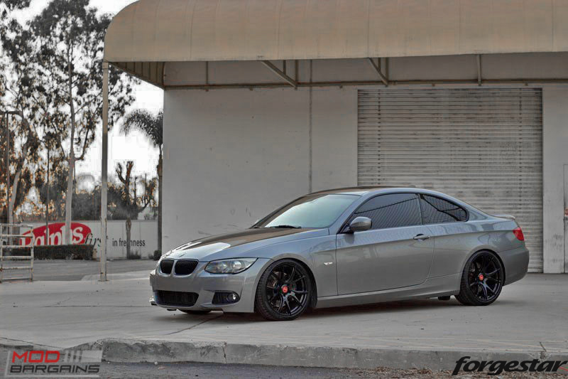 Forgestar CF5V Gloss Black BMW E92 335i img003