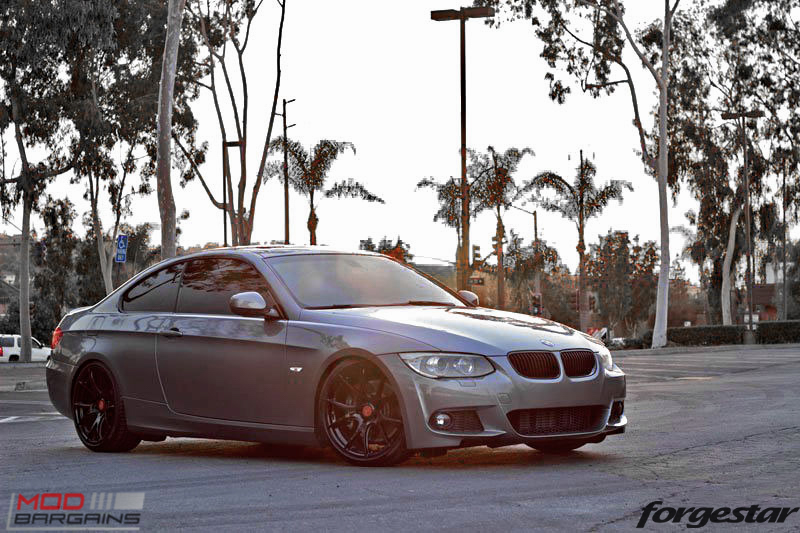 Forgestar CF5V Gloss Black BMW E92 335i img009