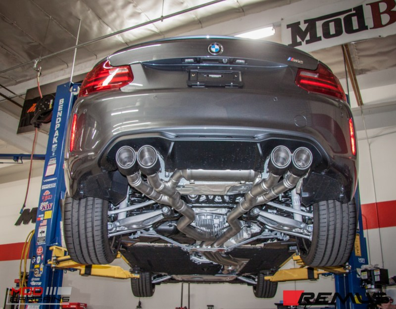 BMW F87 M2 Remus Exhaust (2)