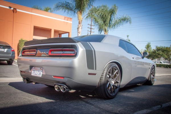 Speaking German: Challenger RT pipes up with Meisterschaft Exhaust