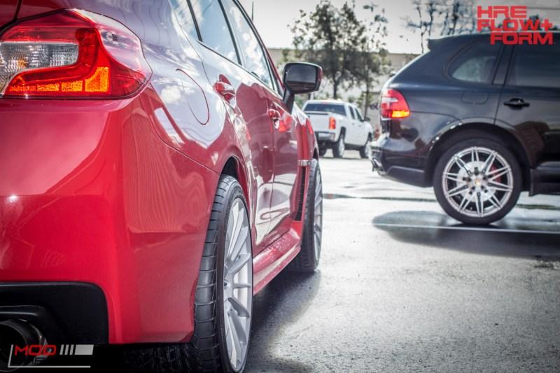 Subaru WRX HRE FF15 Silver (5)
