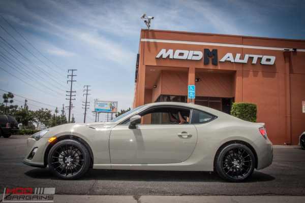 Quick Snap: Scion FR-S RS 2.0 on HRE FF15s at ModAuto