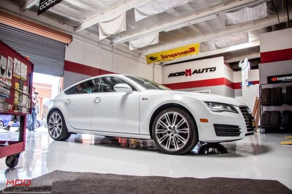 Quick Snap: Audi C7 A7 Gets AWE Tuning Exhaust For Great Sound