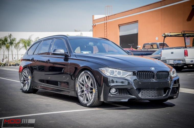 F31 Bmw 328i Touring On Bc Coilovers Stuns On Forgestars