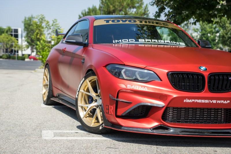 BMW F87 M2 RevoZport Aero Kit Arma Intake GT Haus Exhaust Toyo R888 Klassen iD M52R