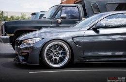 BMW F82 M4 BBS LM Mineral Metallic Gray M Performance