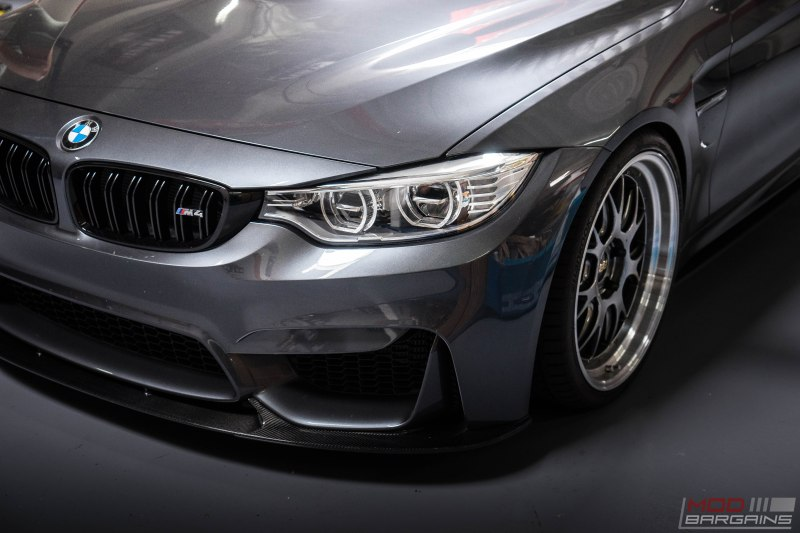 BMW F82 M4 BBS LM Mineral Metallic Gray M Performance