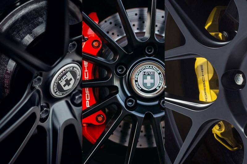 HRE Flow Form FF01 FF04 FF15 Tarmac Black Porsche Caliper