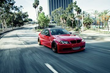 BMW 335i volkemmen design widebody coilovers
