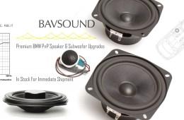 BAVSound Stage 1 Ghost Subwoofer Speaker Upgrades For BMW