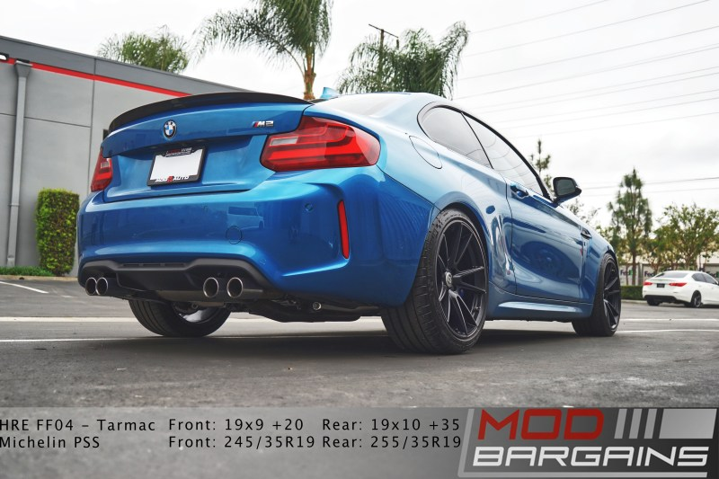 BMW M2, HRE wheels, M2, Carbon fiber lip, Back of M2