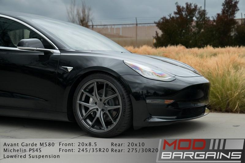 Tesla Model 3 Avant Garde M580 Kingsport Gray, wheel