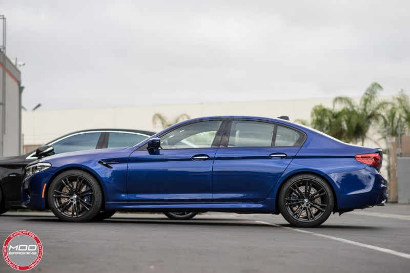 Marina Bay Blue F90 M5 Vogtland Stock Height
