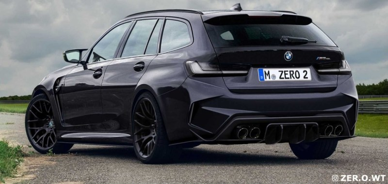 BMW M3 Touring Rendering 2