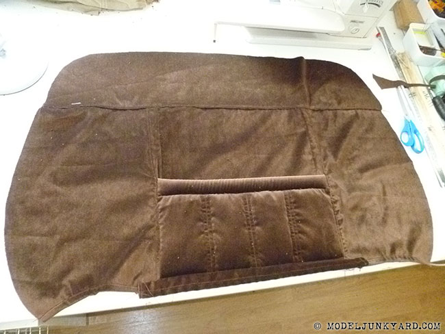 DIY car seat upholstery. From templates to sewing - 1980 ...
