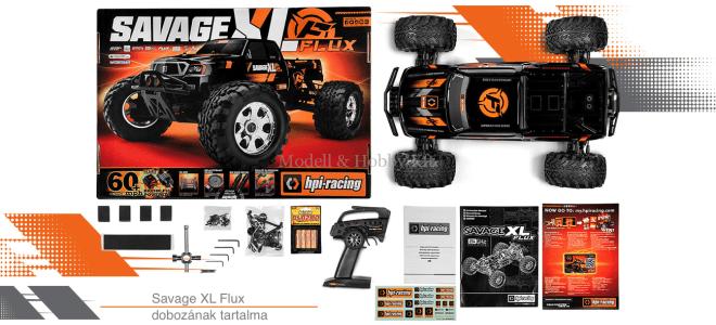 Savage XL Flux RTR