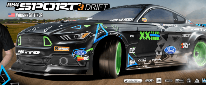 HPI RS4 Sport 3 Drift FORD Mustang