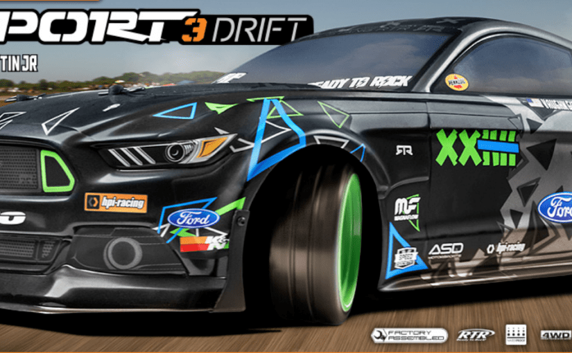 HPI RS4 Sport 3 Drift FORD Mustang