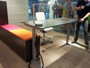Adjustable Height Desk - NEOCON 2014