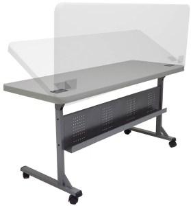 plastic flip-n-store training table