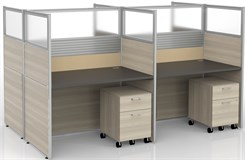 4 person cubicle