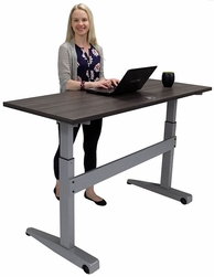 adjustable height desks improve employee productivity