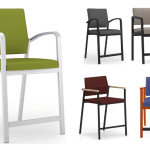 Variety of hip chairs in different colors