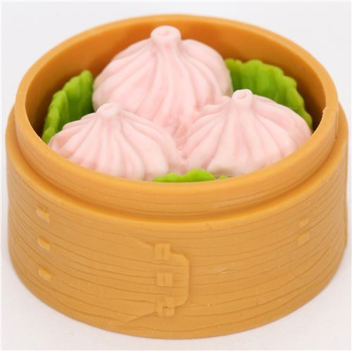 Chinese dumplings eraser from Japan by Iwako