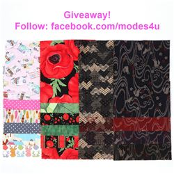 modes4u Breathtaking Fabrics Giveaway , ends September 18th, 2017