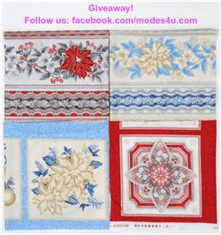 modes4u Christmas Fabrics Giveaway , ends December 4th, 2017