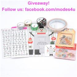 modes4u Creative Stationery Giveaway , ends December 11th, 2017