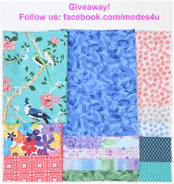 modes4u Easter Fabrics Giveaway, ends March 26th, 2018