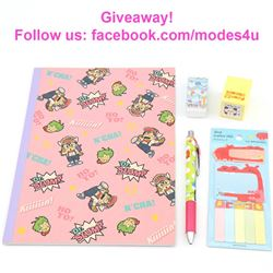 modes4u Kawaii Stationery Giveaway, ends February 19th, 2018