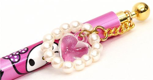 pink My Melody ballpoint with hearts from Japan